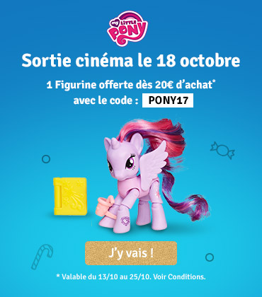 My Little Pony : 1 figurine offerte