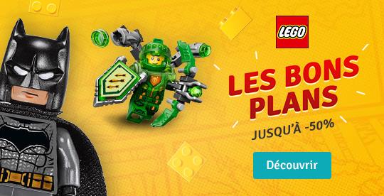 Découvrez les bons plans LEGO®