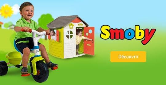 Découvrez les jeux de plein air Smoby