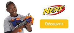 Découvrez les pistolets Nerf