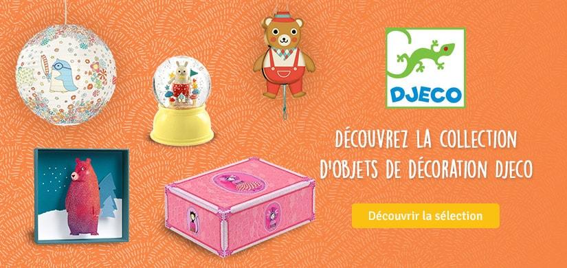 Découvrez les objets de décoration Djeco