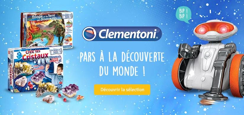 Pars à la découverte du monde avec Clementoni