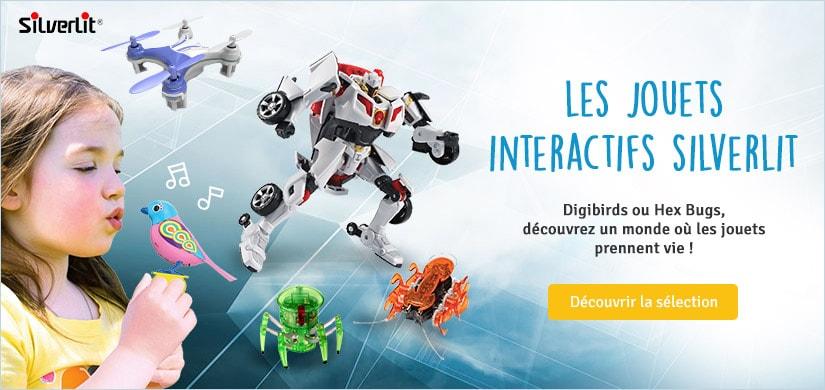 Découvrez les jouets interactifs Silverlit
