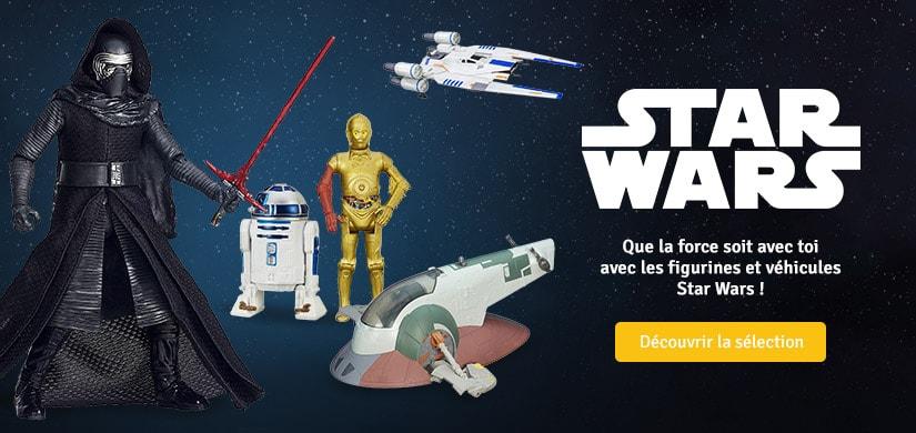 Découvrez les véhicules et figurines Star Wars