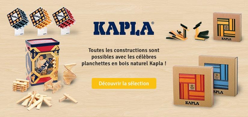 Découvrez les jeux de construction Kapla