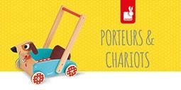 Porteurs et chariots