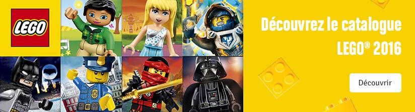 Découvrir le catalogue LEGO® 2016