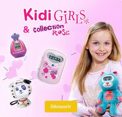 Kidigirls et collection rose