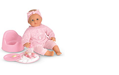 Découvrir les poupées et peluches